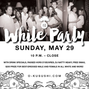 Sunday White Party at Oku