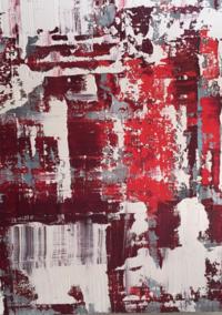 Cool Crimson Morgan Cole Painting