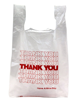 Single Use Plastic Bag
