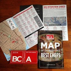 Fall Best Chefs Charleston Map