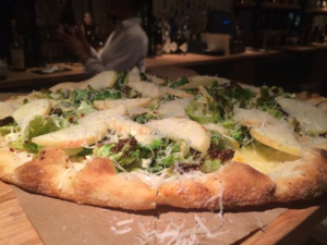 Indaco's Brussel Sprout Pizza