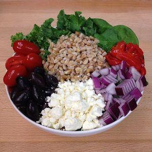Verde Warm Farro Salad Bowl