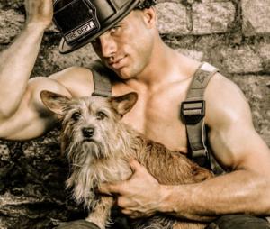 2015 Firefighter Calendar Charleston Animal Society