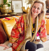 Susan Walker's designs showcase the sumptuous beauty of the world's textiles for women who want to wear the colors of many tribes, and in them, belong to what is bold and strong, eruptive and free.
