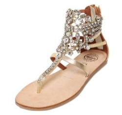 Jeffrey Campbell 10mm Jeweled Sandal