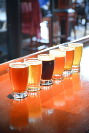 Southend Brewery & Smokehouse Flight of Beer