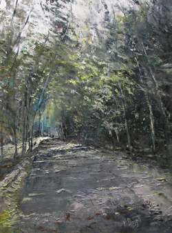 Down the Road by Frank Baggett