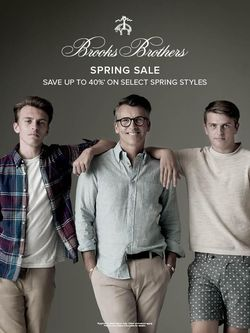 Brooks Brothers Fathers Day Sale