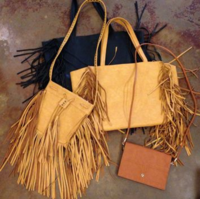 House of Sage fringe purses
