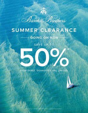 Brooks Brothers Sale