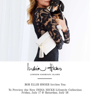 India Hicks Bob Ellis
