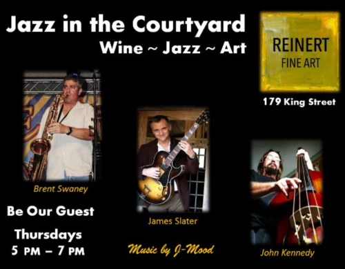 Reinert Fine Art Jazz in the Courtyard