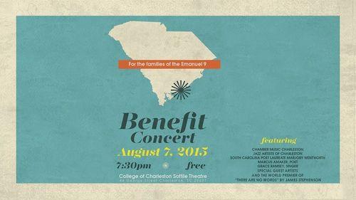 Charleston Benefit Concert
