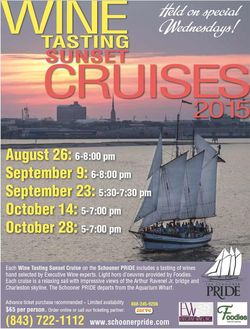 Charleston Harbor Tours Wine Cruise