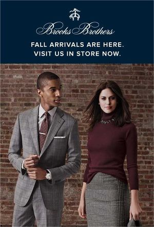 Brooks Brothers Fall Arrivals
