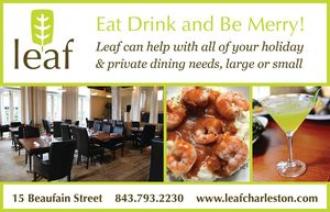 Leaf Restaurant Holiday Planning