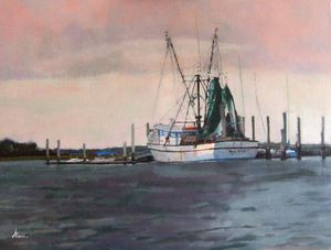 Alana Knuff Bohicket Dock