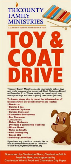 Tricounty Family Ministries Coat Drive