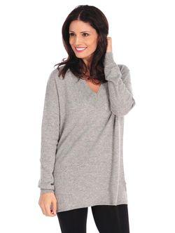 Julia Cashmere Boyfriend Sweater