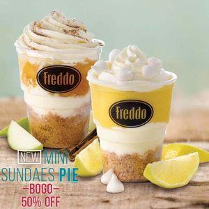 Freddo Mini Sundaes Pie