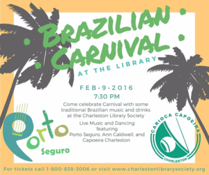 Brazilian Carnival at Charleston Library Society