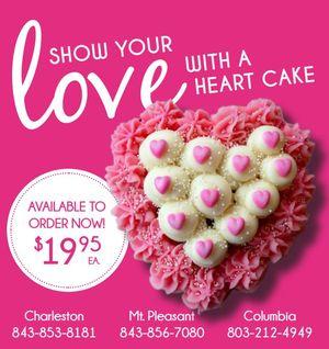 Cupcake Heart Cakes
