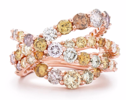 Kwiat Entwined Ring