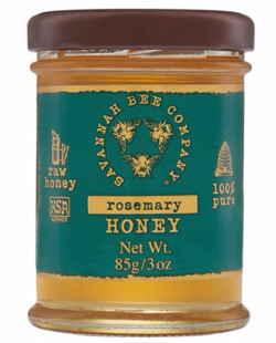 Savannah Bee Rosemary Honey
