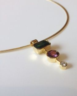 Corneau Goldsmithing Necklace