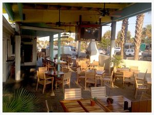 Rita's Patio can be as formal as you'd like or as casual as a day at Folly Beach.