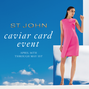Join us at the St John Spring Collection Event