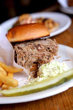 SBS BBQ sandwich