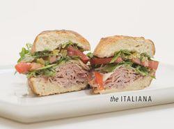 The Italiana Caviar and Bananas Sandwich