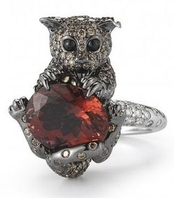 Roberto Coin Cat Ring
