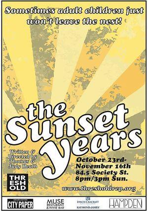 Threshold Repertory Theatre The Sunset Years