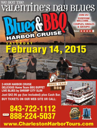 Charleston Harbor Tours Valentines Day Cruise