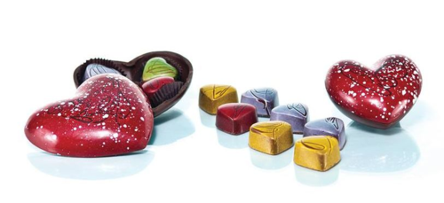 Christophe Chocolate Hearts