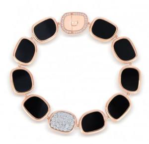 Roberto Coin Black Jade Bracelet