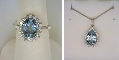 Joint Venture Aquamarine Jewelry
