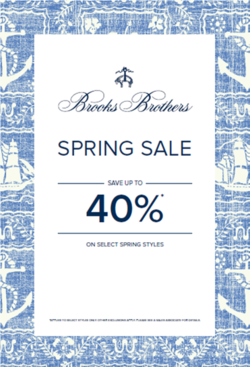 Brooks Brothers Spring Sale
