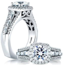 A.JAFFE Diamond Ring