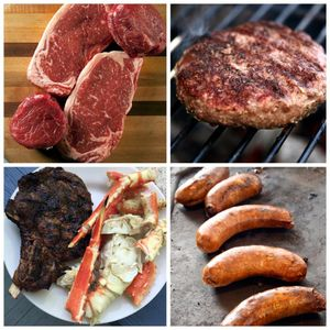 Ted's Butcherblock July 4th Grill Selection