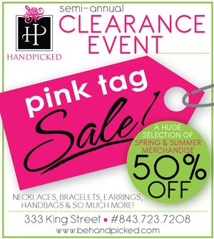 HandPicked Pink Tag Sale