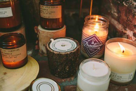 Fall Candles Candlefish