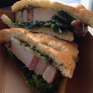 Ted's Butcherblock Porchetta Sandwich