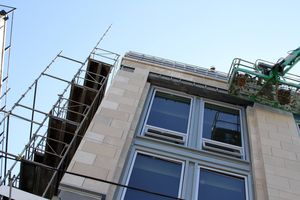 Restoration on King Construction