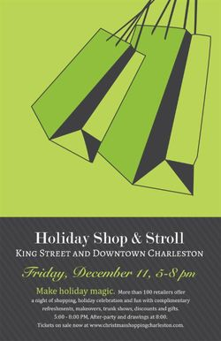 Holiday Shop and Stroll