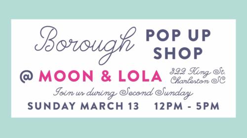 Borough Pop Up Shop
