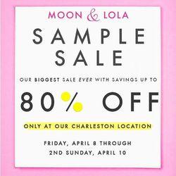 Moon and Lola Sample Sale