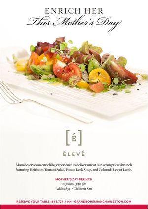 Eleve Restaurant Mothers Day2
